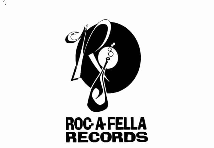 image logo label Roc-A-Fella