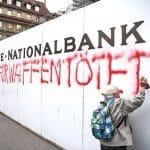 Une tagueuse militante de 86 ans arrêtée en Suisse