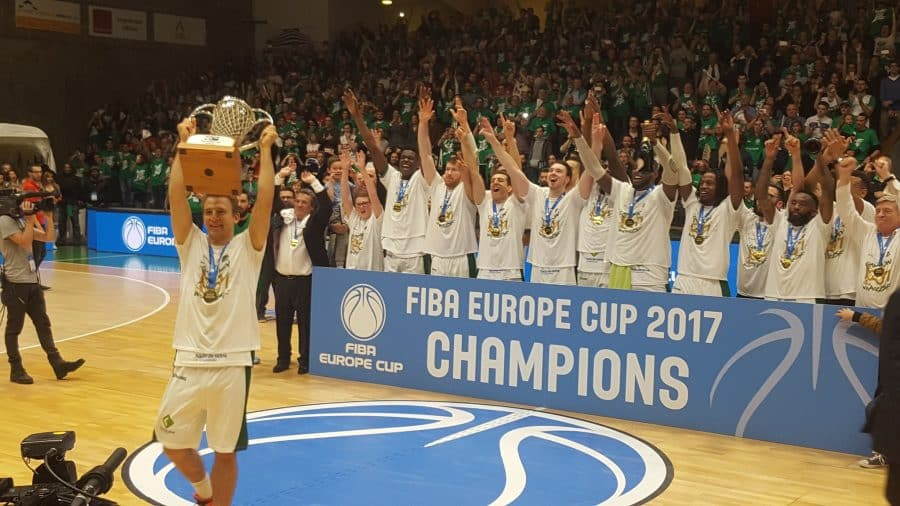 image nanterre champion europe cup 2017
