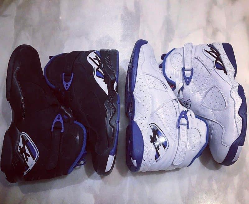 image sneakers OVO Jordan 8 CALIPARI PACK