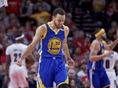 image Stephen Curry vs blazers game 4 2017