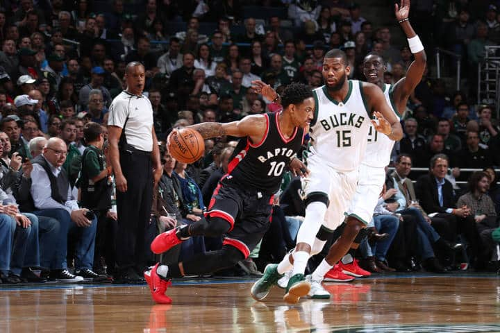 image Toronto Raptors vs Milwaukee Bucks game 6 2017