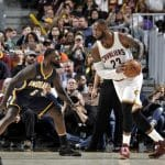 NBA : LeBron James remporte son duel titanesque face à Paul Georges