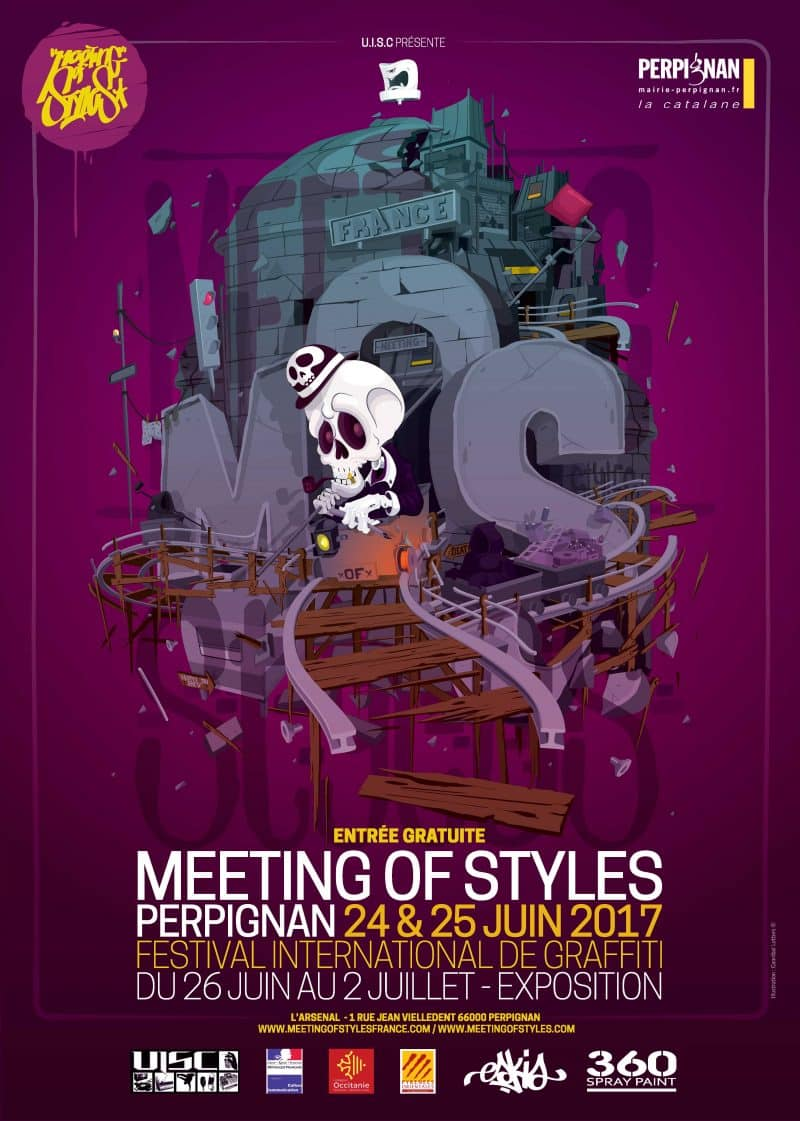 image affiche meeting of style france 2017