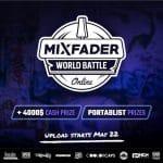 Le battle de scratch portable de Mixfader peut vous faire gagner 3000$