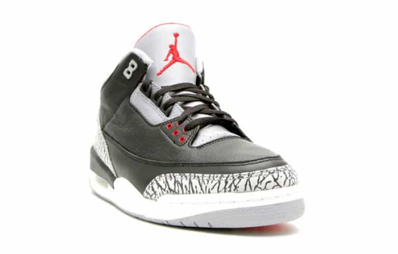 image Air Jordan 3 OG Black Cement devant