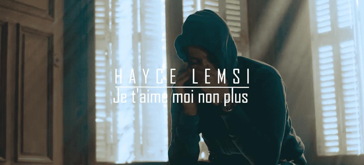 image Hayce Lemsi du clip Je T'aime, Moi Non Plus