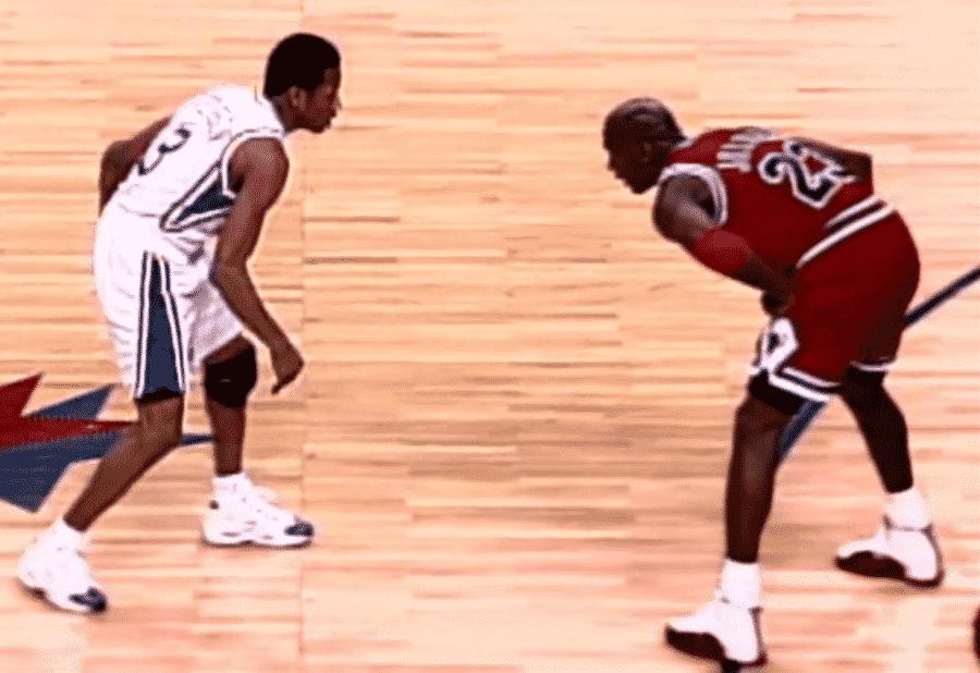 image allen iverson crossover Michael Jordan 1997