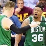 Des Celtics héroïques infligent aux Cavs leur première défaite des playoffs