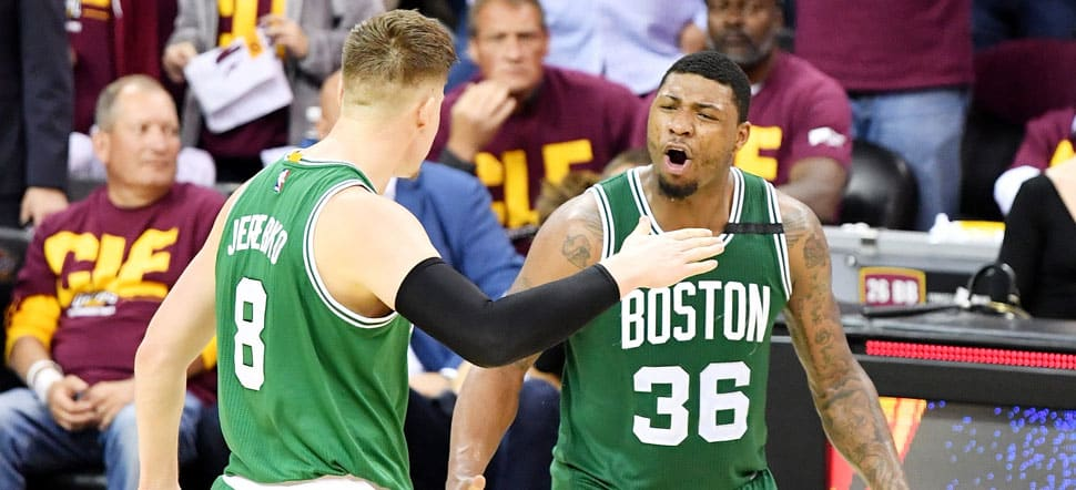 image boston celtics cleveland cavaliers game 3 2017