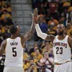 Cleveland assure, San Antonio rassure