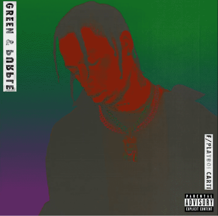 image cover Purple & Green de Travis Scott