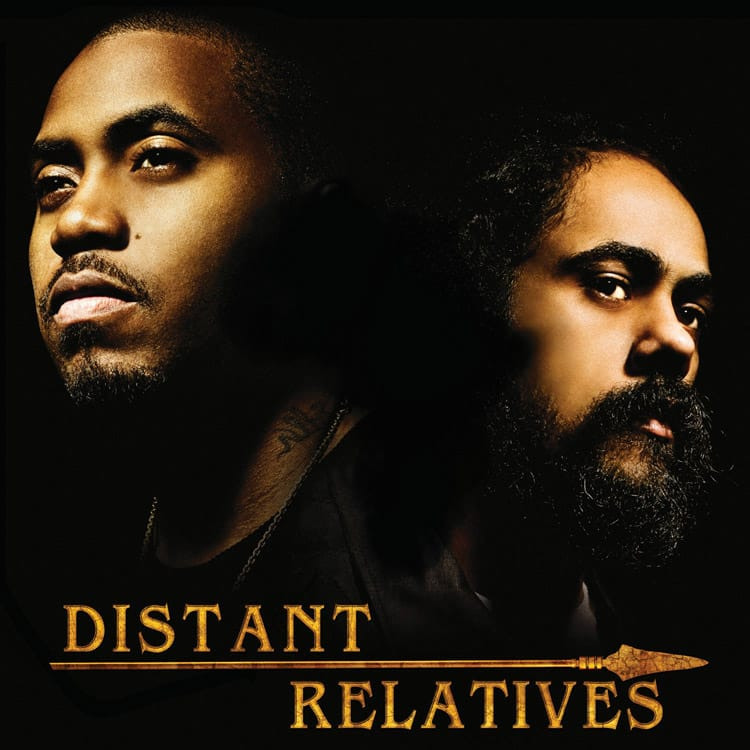 image cover album Distant Relatives de Nas & Damian Marley