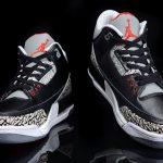 La mythique Air Jordan 3 OG Black Cement revient en février 2018
