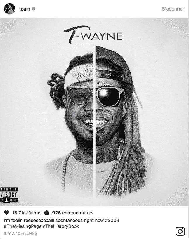 image hypothétique cover album T-Wayne