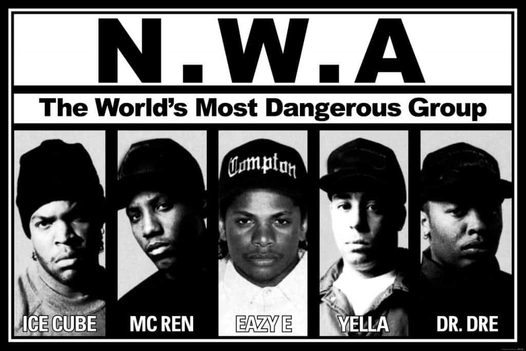 image membres du groupe NWA