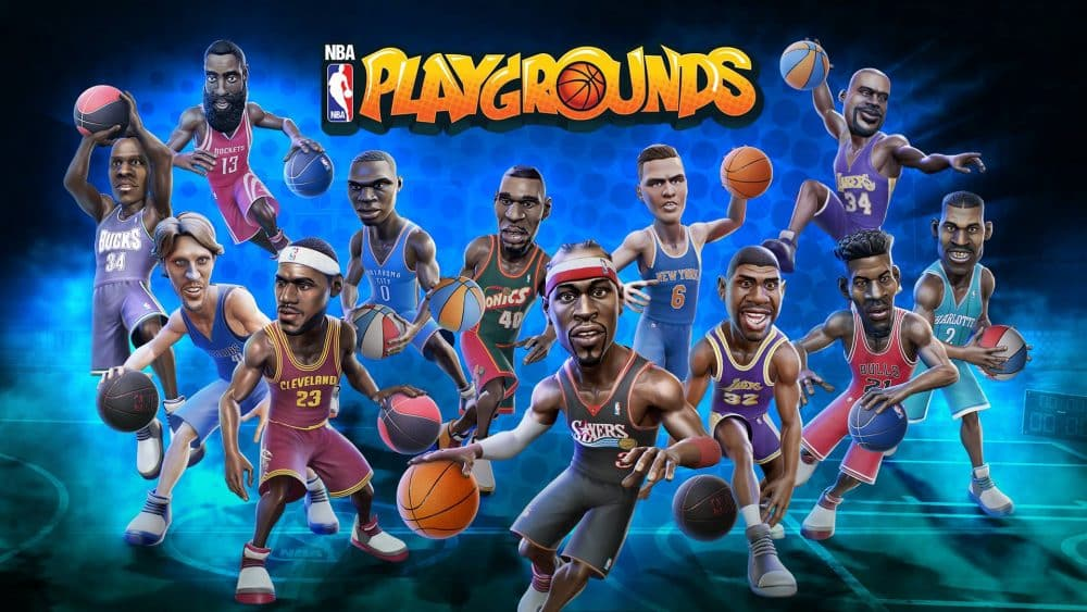 image pochette nba playgrounds