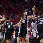 Les Spurs humilient les Rockets et rejoignent les Warriors
