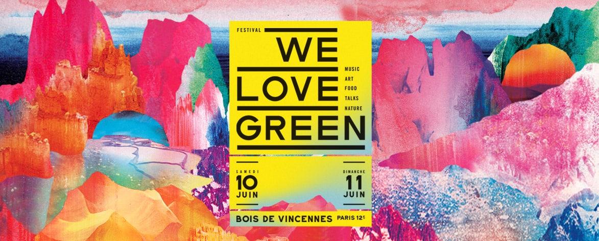 Ce week end se tiendra le festival we love green hip hop for We love design