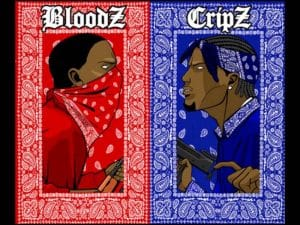 image Bloods et Crips gangs