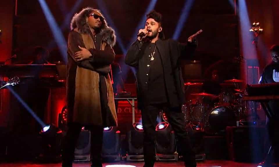 image Future & The Weeknd sur scène