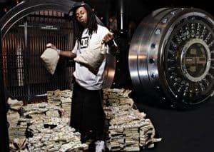 image Lil Wayne montre argent
