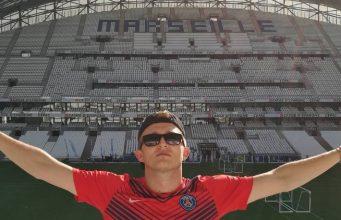 image Vald maillot PSG à Marseille