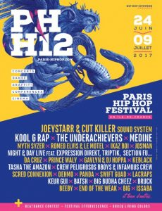 image affiche Paris Hip Hop 2017