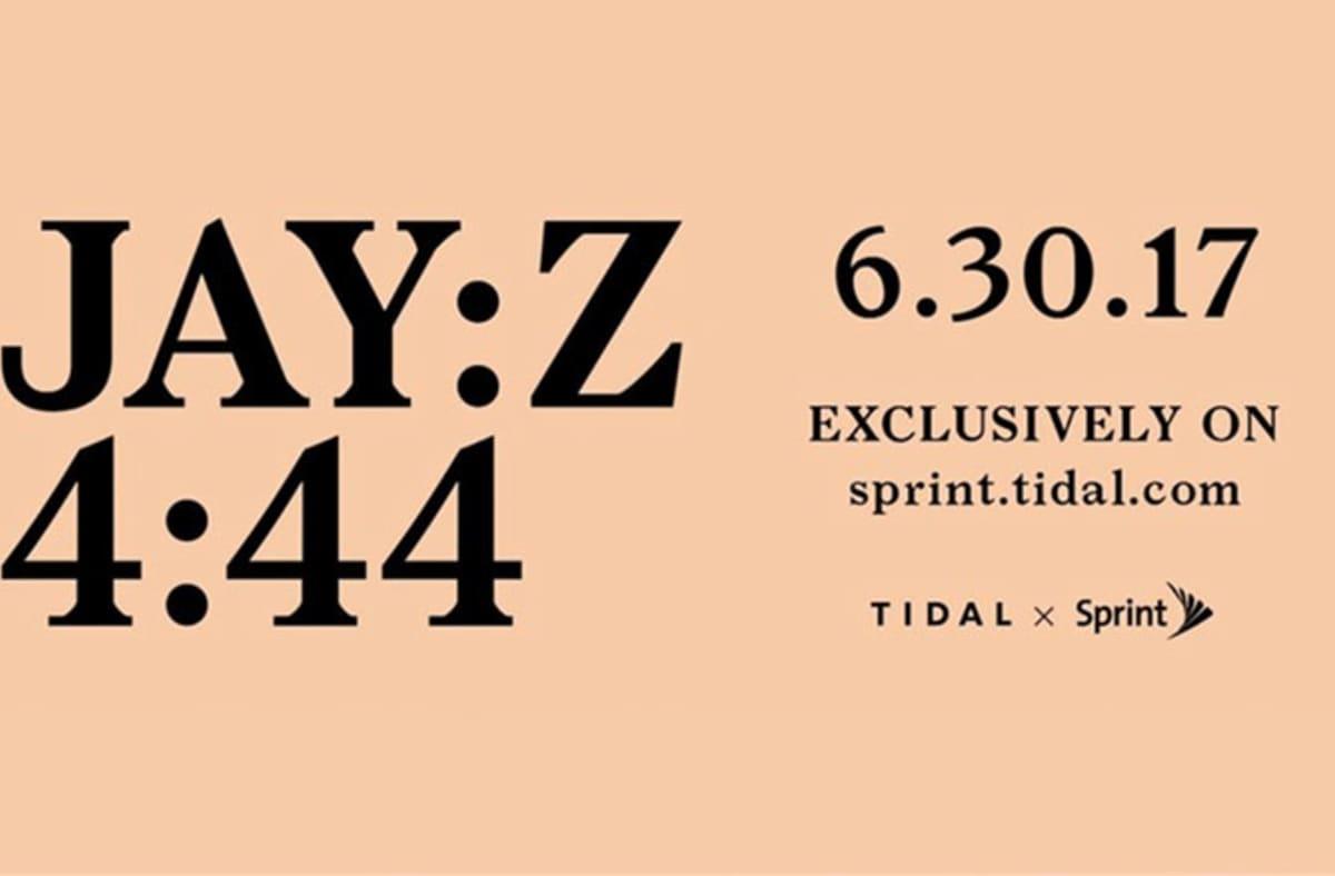 image affiche annonce date sortie album 4 44 de Jay Z
