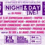 Vivez le Night & Day Live du Paris Hip Hop Festival 2017 !