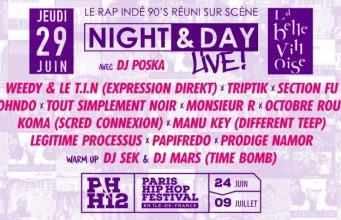 image affiche promotionnelle Night & Day Live 2017