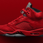 La magnifique Air Jordan 5 Red Suede arrive