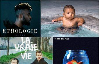 image albums rap 23 juin 2017 cover