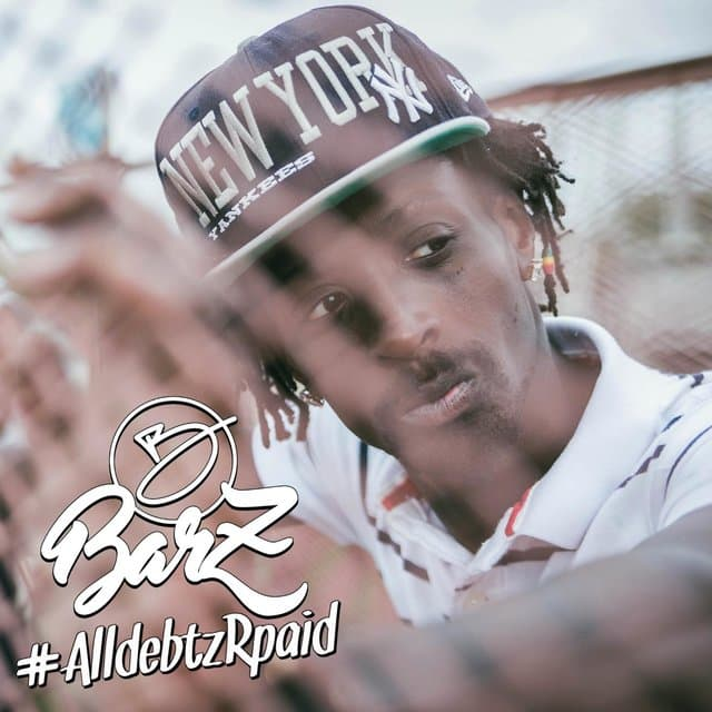 image barz rap all debtz r paid cover
