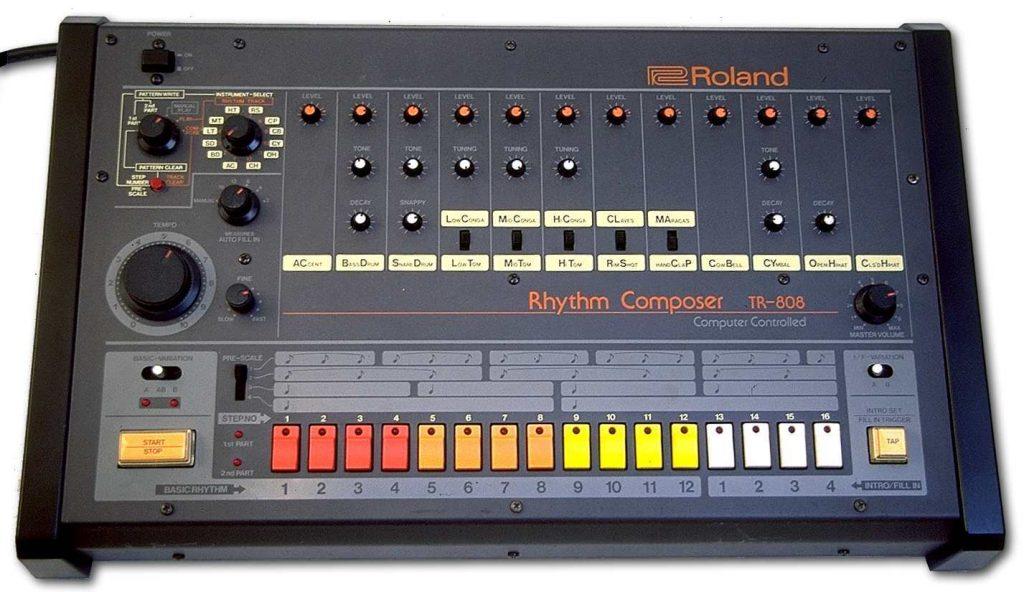 image boîte à rythme TR-808