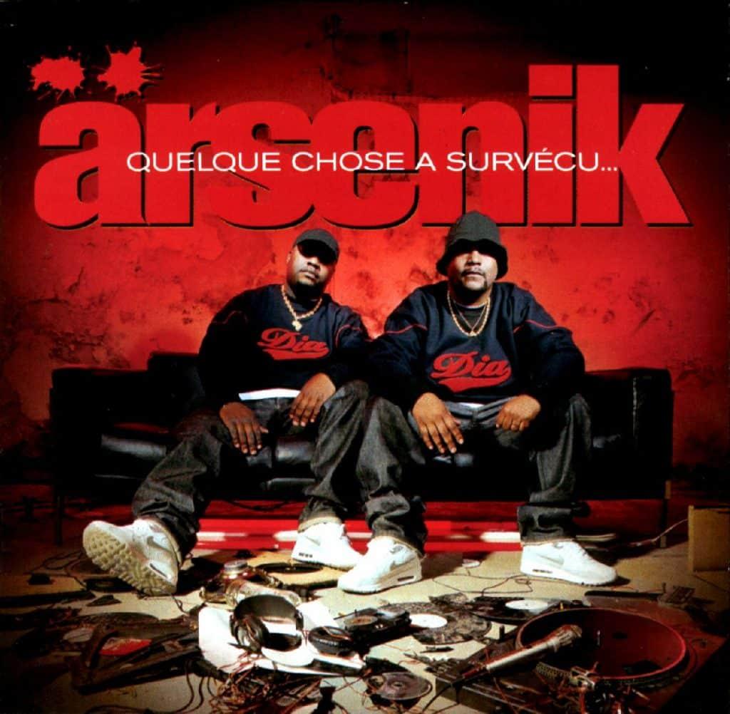 image cover album Quelque Chose A Survécu de Arsenik