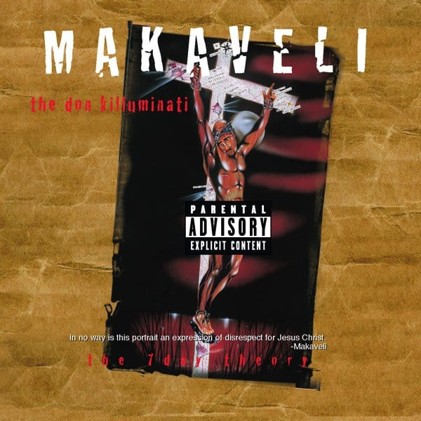 image cover album The Don Killuminati The 7 Day Theory de Tupac