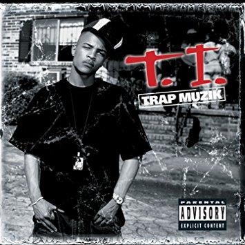 image cover album Trap Muzik de TI
