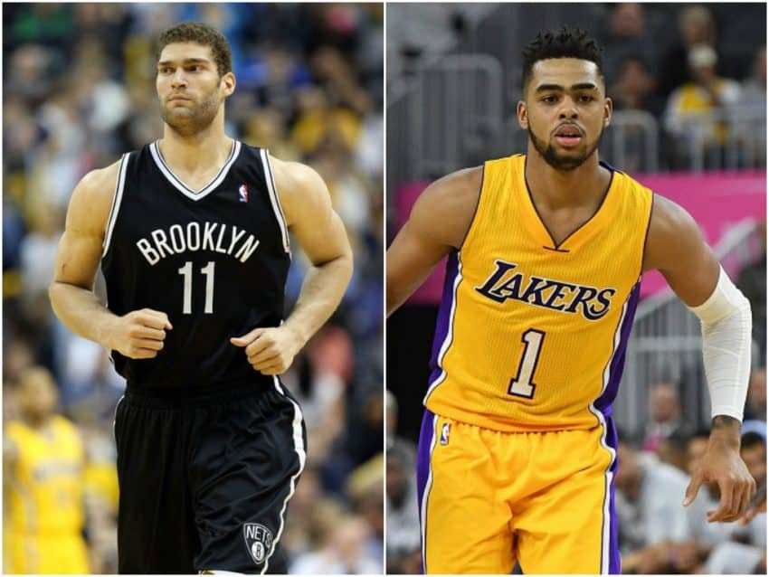 image deangelo russell brook lopez
