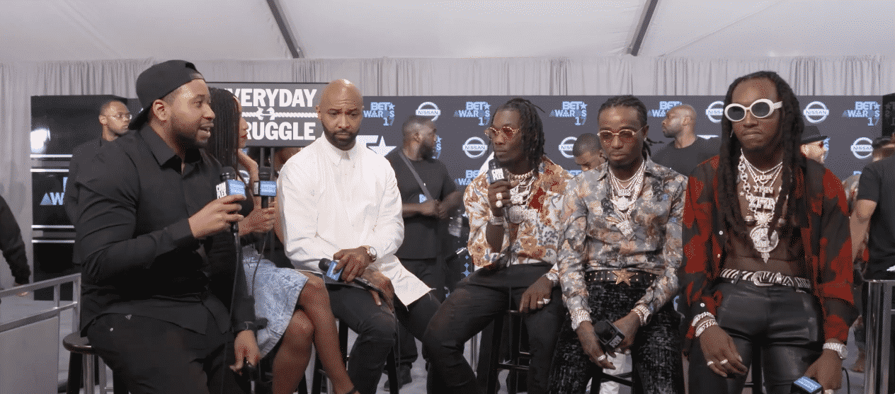 image interview Migos BET Awards 2017