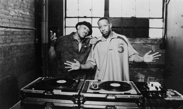 image le duo de Gang Starr