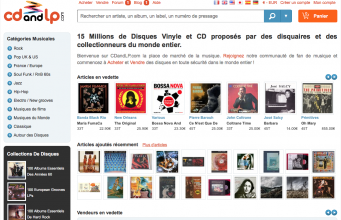 image page accueil site CDandLP