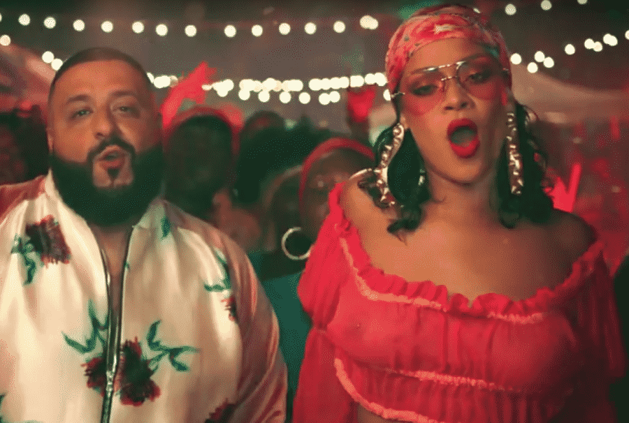 image rihanna dj khaled clip wild thoughts