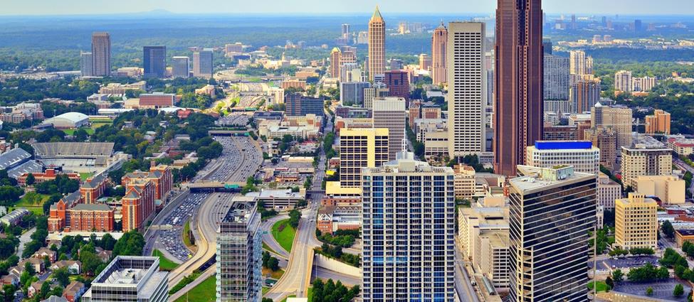 image ville de Atlanta dans l'état de Géorgie