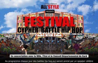image Festival Cypher Hip Hop à Alès 2017