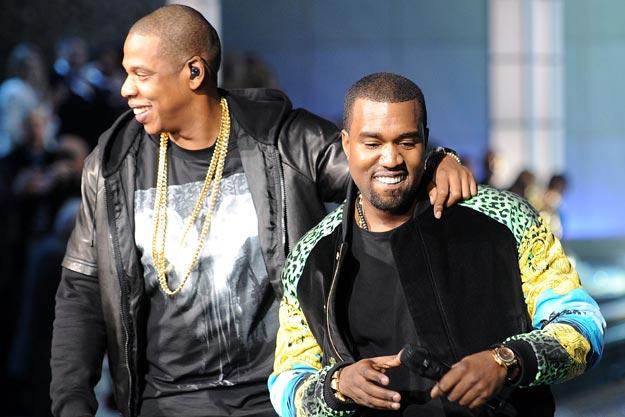 image Jay Z et Kanye West