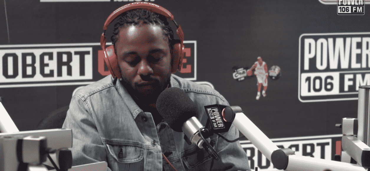 image Kendrick Lamar article classement top 05 artistes chez Power 106