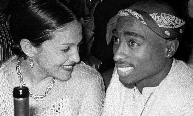 image Madonna et Tupac