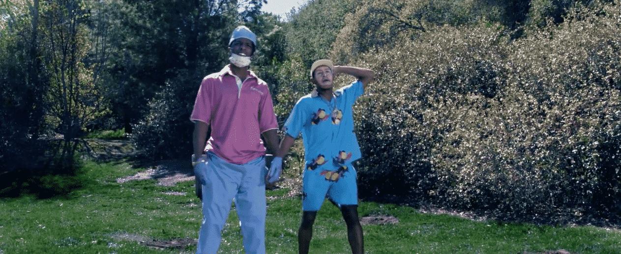 image Tyler The Creator et ASAP Rocky dans le clip de Who Dat Boy