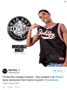 image collection vêtements Heritage Bad Boy Records